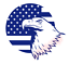 Eagle-US-Flag-Stick-Vinyl-Decal-Window-Sticker-Car thumbnail 1