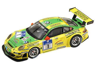 PORSCHE 911 GT3 RSR #1 NURBURGRING RACE WINNER 2009 1/18 BY SPARK 18S058