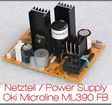 NETZTEIL DRUCKER OKI MICROLINE ML390FB 3R-P9-0038 POWER SUPPLY FLACHBETT RECHNUN