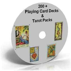 Details about Vintage Tarot Cards 200+packs Astrology Fortune Celtic Tribal  Masonic collection