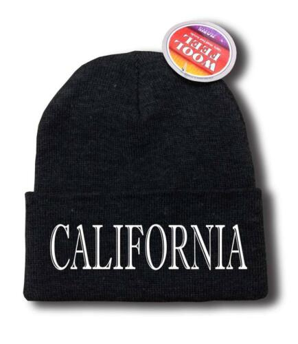 "FOR MEN WOMEN /""CALIFORNIA/"" CALI FUNNY HOP Snowboard Ski Long Beanie HAT ONE SIZE"