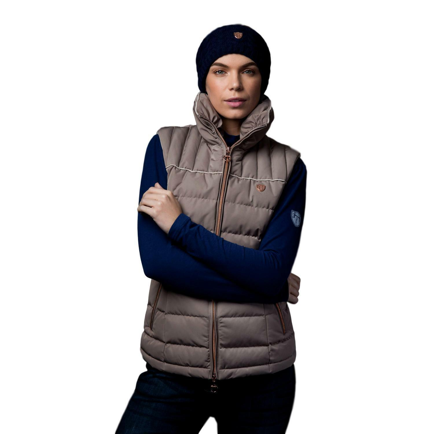 Equetech Equetech Equetech Kingsley Gilet Wouomo Lightly Quilted Vest Water Resistant e518af
