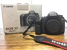 Canon EOS 5D Mark II 21.1 MP Digital SLR Camera - Black (Body Only) (2764B003)