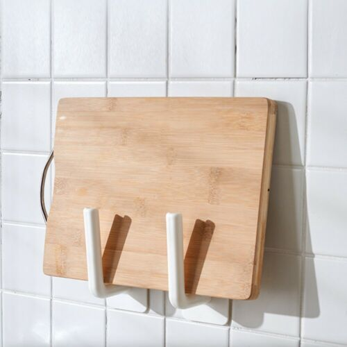 Kitchen Self-adhesive Accessories Under Cabinet Paper Roll Rack Towel Holder.