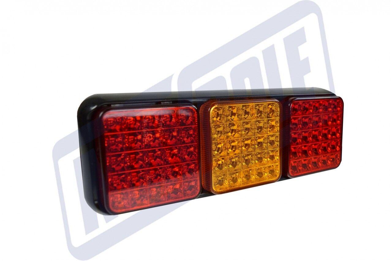 2 x MP9639B Trailer Light - 10-30V LED S T I FOG MODULAR