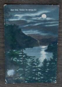 vintage color postcard thompson river british columbia canada