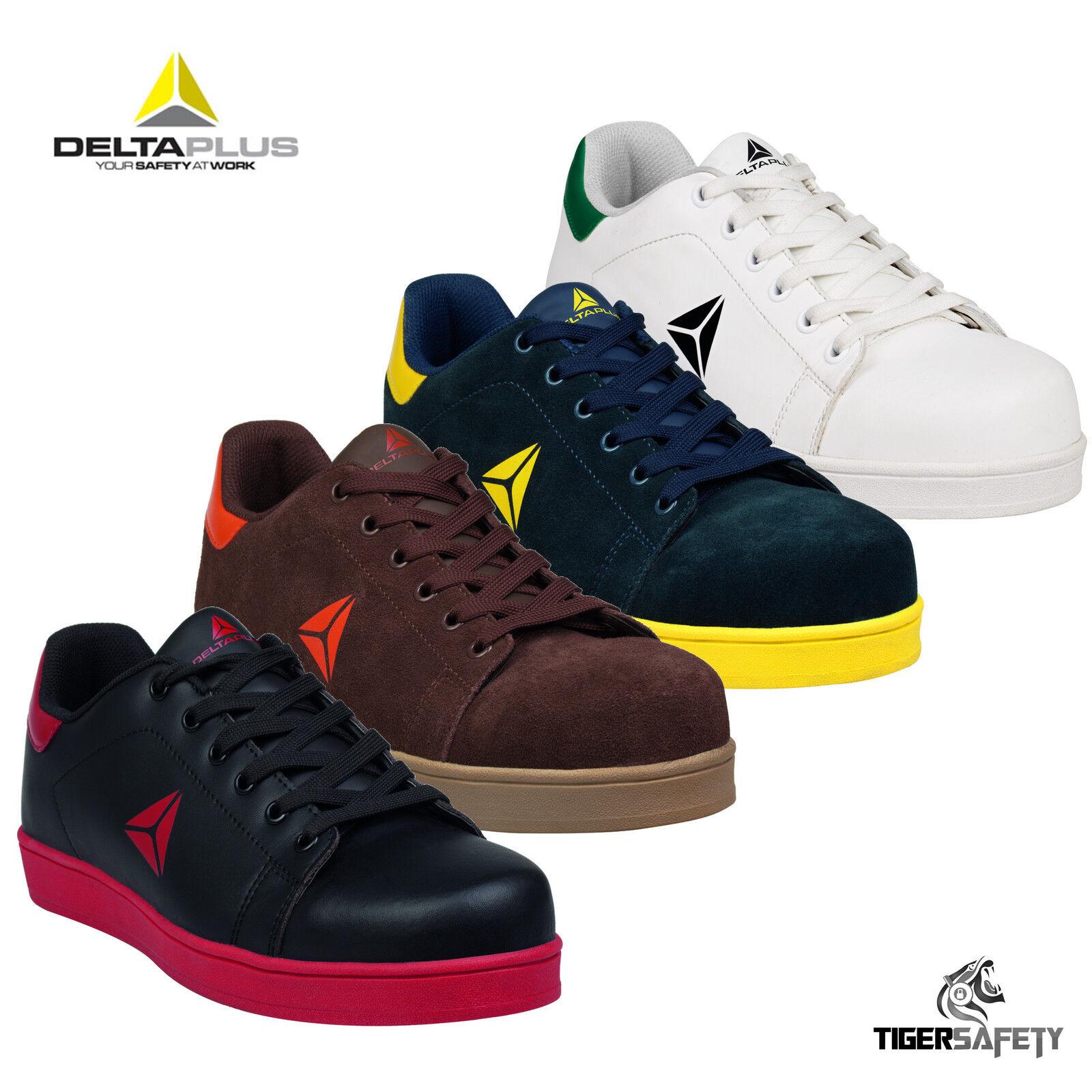 Delta Plus Panoply Smash S1P Metal Gratis Puntera Composite Seguridad Zapatillas Zapatos
