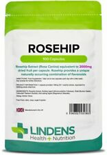 Rosehip 2000mg 90 Capsules Joint Care Formula Arthritis Inflammation Lindens UK