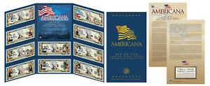 AMERICANA-Set-of-10-Legal-Tender-Colorized-2-Bills-LICENSED-Elvis-Lucy-amp-More