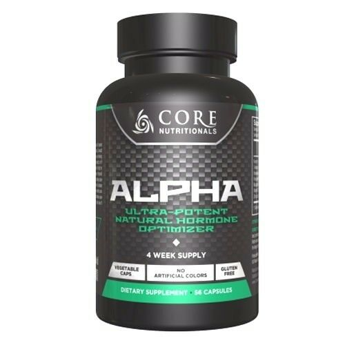 Core Nutritionals Alpha Alpha Nutritionals Testosteron Booster % Anti-aromatase 56 Kapsel Bekomme 5ed9a1