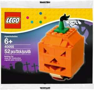 LEGO-40055-HALLOWEEN-THANKSGIVING-PUMPKIN-POLYBAG-NEW-RETIRED-LA013