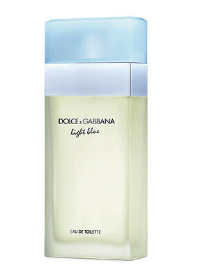 LIGHT BLUE BY DOLCE GABBANA WOMEN 3.3 OZ/100ML EAU DE TOILETTE SPRAY SEALED 100%