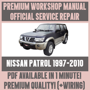 Workshop manual service repair guide for nissan patrol 1997 2010 image is loading gt workshop manual service amp repair guide for cheapraybanclubmaster Images