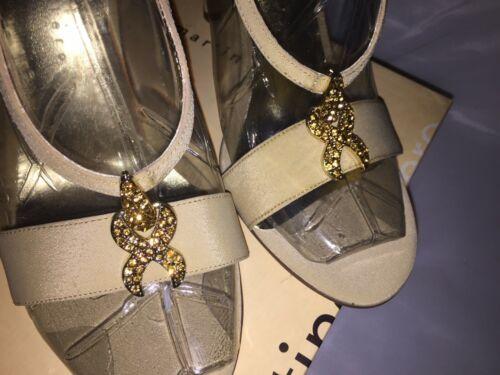 hak Martinez Open teen 9 Valero sandalen Camel Dames hoge M maat Zijden Penis Brena 1w0xfqnR