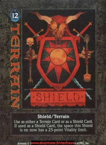 Shield//Terrain Guardians CCG - ENG // Dagger Isle Demonic