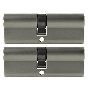 Cylinder Door Lock Cylinder Cylinder Lock 3-15 Key 20//20 Length