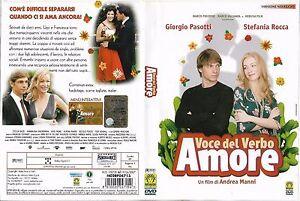VOCE-DEL-VERBO-AMORE-2007-dvd-ex-noleggio