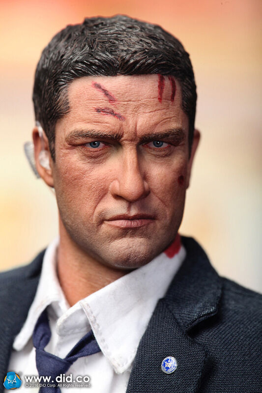 Did action figure 1 6 12'' us mark special agent  dragon cyber hot toys