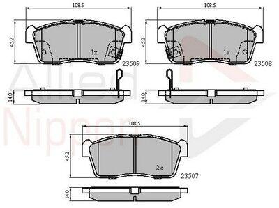 Suzuki Ignis MK2 1.5 Sport Genuine Allied Nippon Front Brake Pads Set