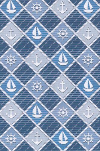 Badevorleger Weichschaumbelag Weichschaummatte 65cm Aqua Nova 562-A Blau