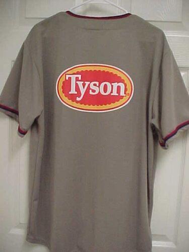 Poulet Tyson Bouton XL Baseball Naturals Foods Brun Coyote Jersey Avant Homme q4Uw4E