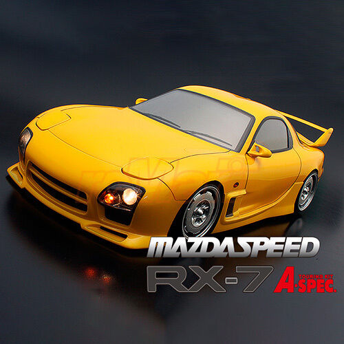 ABC Hobby 1:10 Mazda RX-7 Mazdaspeed A-SPEC FD3S Clear Body Parts RC Cars  66172