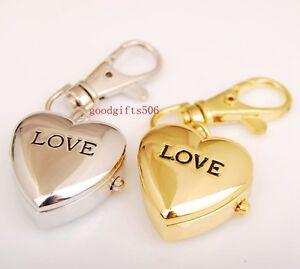 Image of: Love Heart Image Is Loading Newcuteloveheartdesigngirlsladywomen Ebay New Cute Love Heart Design Girls Lady Women Key Ring Chain Watch