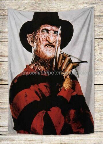 apartment decor a Nightmare On Elms Street Freddy Krueger tapestry cloth poster