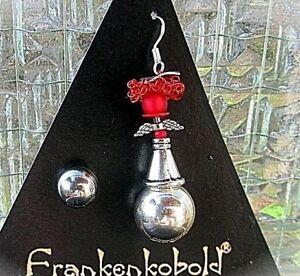 LiebenswüRdig Woelke Design © Schutz Engelsrufer Ohrringe S 925 Koralle Achat Kraftvoll Rot üBerlegene Materialien