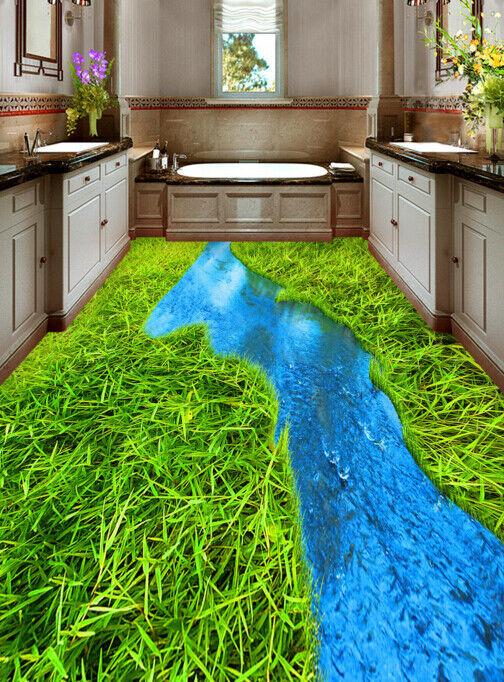 3D prado lago Papel Pintado Mural Parojo Impresión de suelo 674 5D AJ Wallpaper Reino Unido Limón
