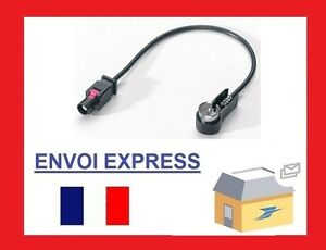 Antennen-Adapter-ISO-FAKRA-Audi-BMW-Ford-Opel-Seat-VW-Radio-Adapter-Antena