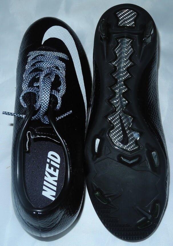 Neu Nike Fussball Damen Schwarz Logo Weiss Stollen Schuhe 598927-993 Größe Größe 598927-993 8 bb8c7a