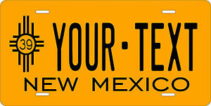 New Mexico 1938 License Plate Personalized Custom Auto Bike Motorcycle Moped
