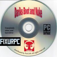 Clean Hard Drive,erase Drives,boot & Nuke Disk,erase Before You Donate It, Safe
