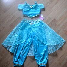 NEW Disney World Parks JASMINE Girls COSTUME M 7/8 PRINCESS Halloween DRESS UP