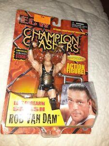 2000 ECW Champion Clashers Rob Van Dam Hardcore Action Figure Forearm Smash