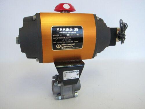 New Worcester Controls Series 39 Pneumatic Actuator Model 15 60 Psi 6RS