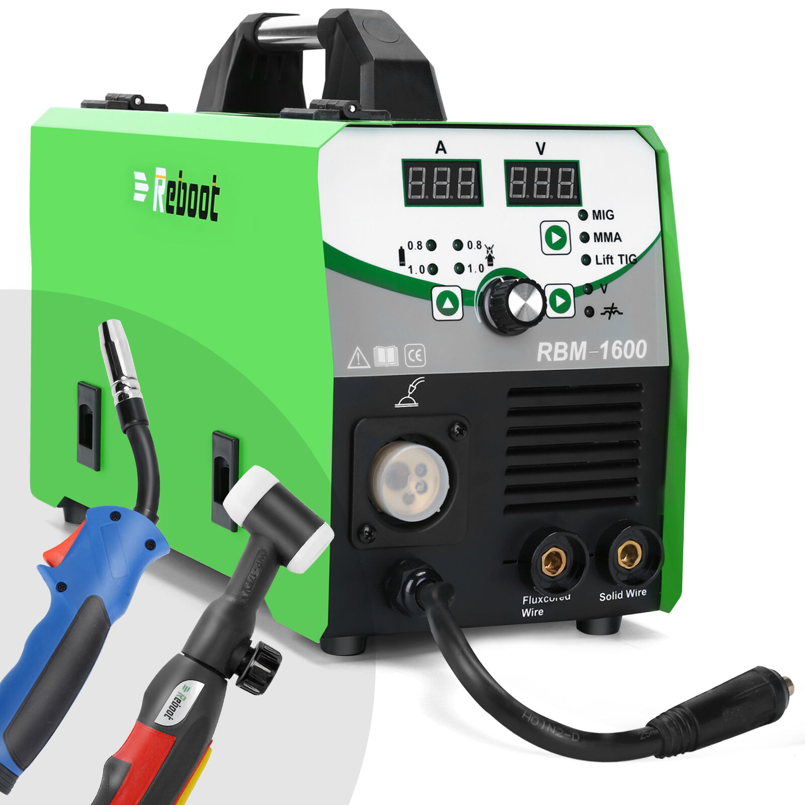 MIG TIG Welder 160A IGBT Inverter ARC STICK GAS GASLESS LIFT TIG 5 IN 1 Welding. Buy it now for 339.99