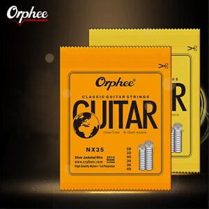 1-Set-di-corde-per-chitarra-classica-classica-in-nylon-e-argento-placcato-seriTM
