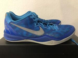 new product b2b0e 1545f Image is loading Nike-Zoom-Kobe-8-Blue-Coral