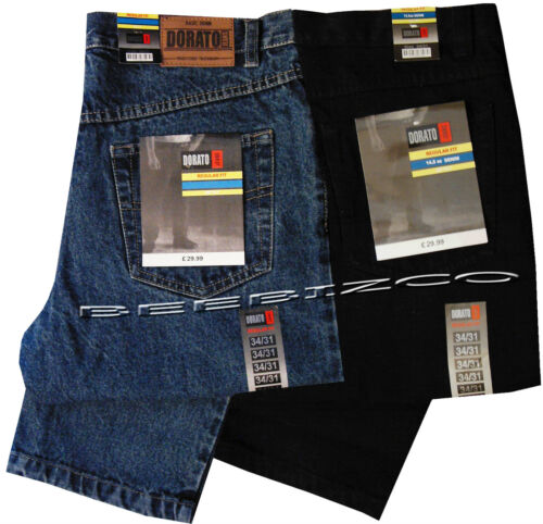 Mens Heavy Duty Tough Regular Fit Straight work Jeans Quality Hard Wearing 32-52