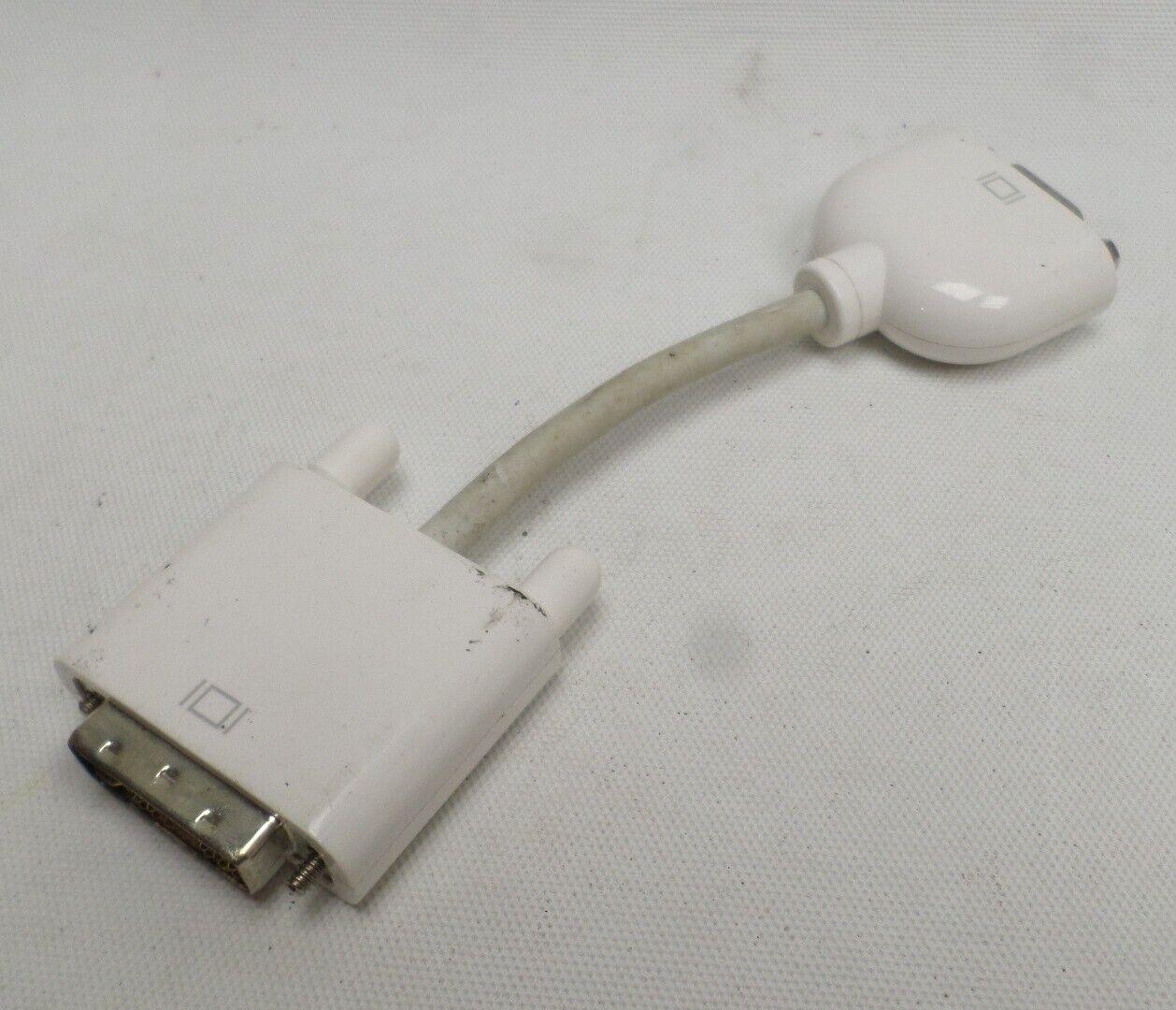 Genuine OEM Apple DVI to VGA Adapter Cable Mac Display Monitor free UK P+P