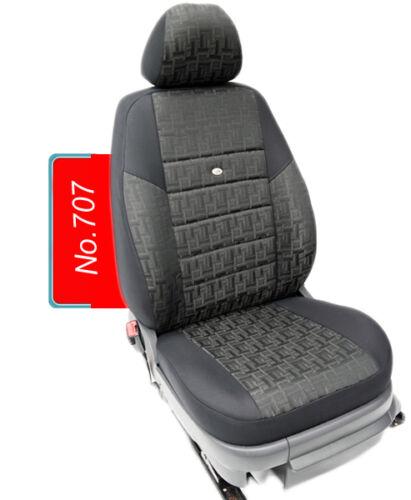Maß Schonbezüge Skoda Roomster ab 2006 Komplett  5 Sitzer  Set Sitzbezüge 707