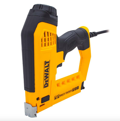 Dewalt Straight 1-1//4 inch 18 Gauge Brad Staple Stapler Gun 2500 Staples Nails