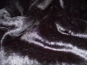 SHORT-PLUSH-Care-Bear-Faux-Fur-Fabric-BLACK