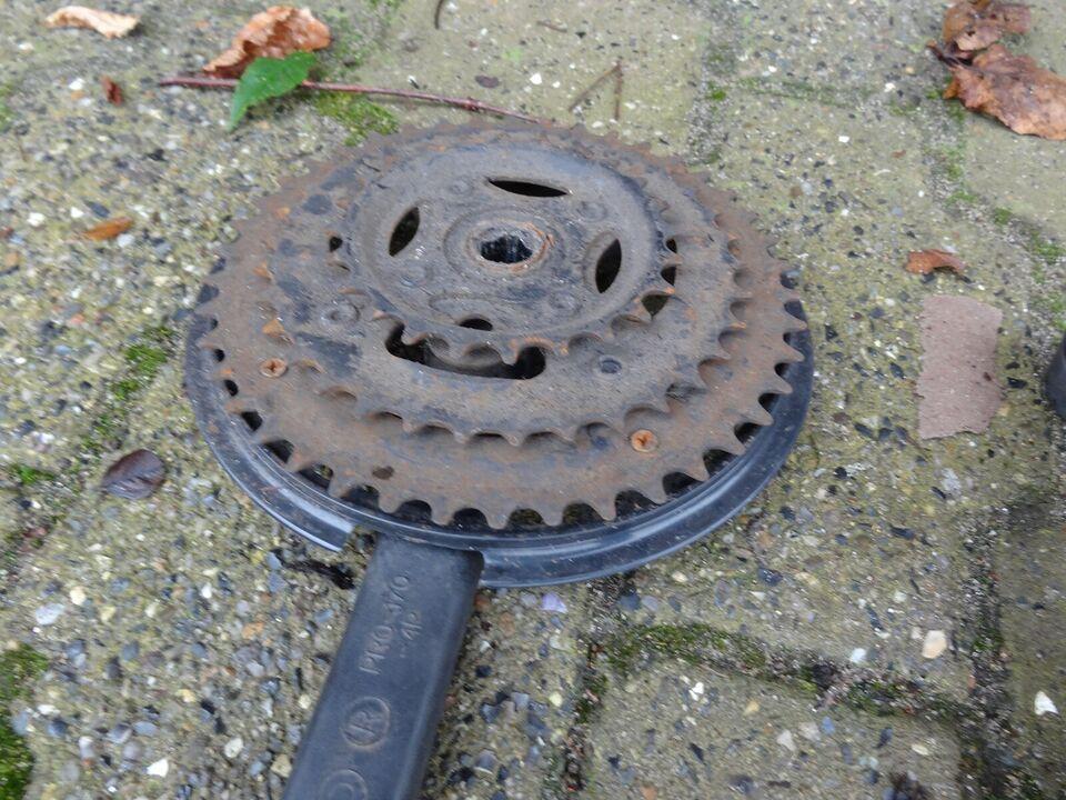 Hjul, 2 MTB hjul med dæk