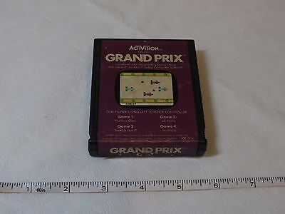 Activision Grand Prix game for Atari game computer system vintage