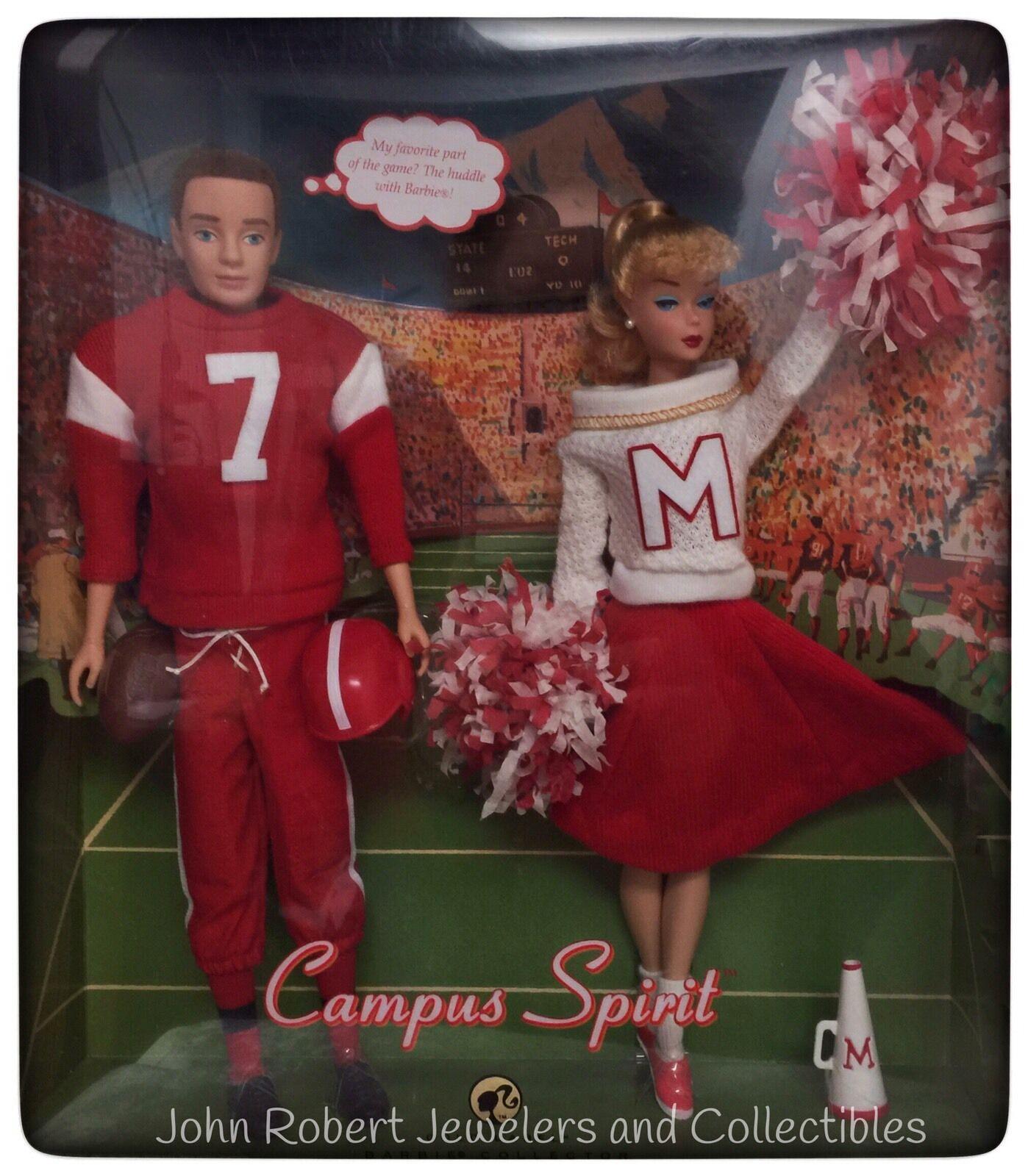 Barbie Vintage Repro campus espíritu Ken y Barbie en caja original con