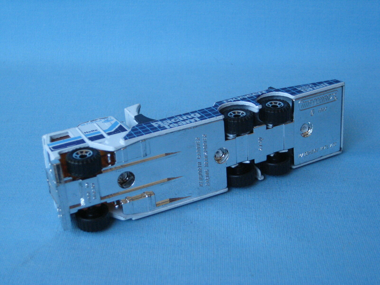 Matchbox Convoy Kenworth Transporter Transporter Transporter Pioneer Racing Pre-Pro RARE 125mm Long 75cc0e
