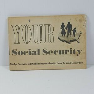 1960s-Social-Security-Pamphlet-Vintage-Government-Printing-Office